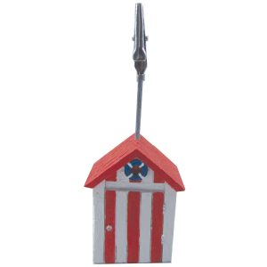 Beach Hut Name Card Holder