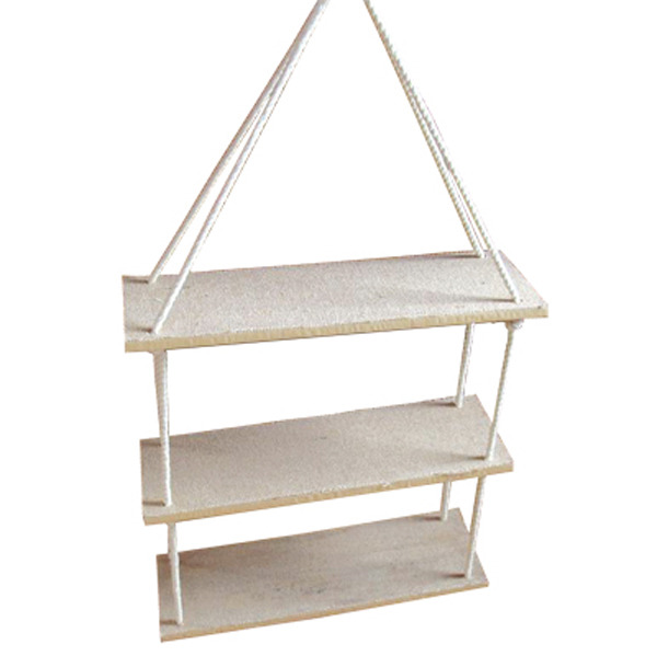 Three Part Rope Shelf 53x35cm