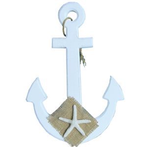 White Anchor - Starfish Patch series