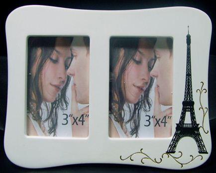 Photo Frame Paris Landscape Twin Curved