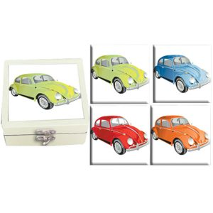 Ceramic Coasters (Set of 4) - Bugs Boxed