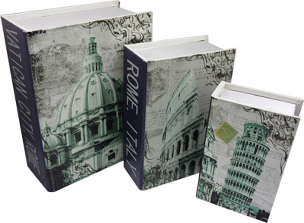 Book Boxes - Italy (set of 3)