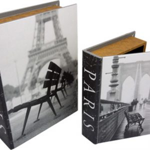 Book Boxes - Streets of Paris (set of 2)