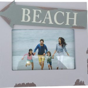 Photo frame  with Beach Sign