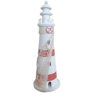 Lighthouse large Red stripe