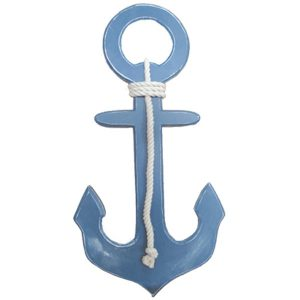 Anchor with Rope - Blue