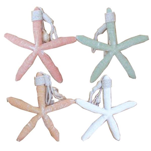Starfish hangers (set of 4) 28x185x28
