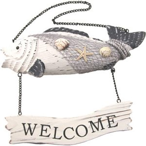 Fishy Welcome Sign