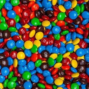 M & M's Mini Choc Buttons 1kg Bulk Lollies Bag for Lolly Buffet - The Lolly Shop
